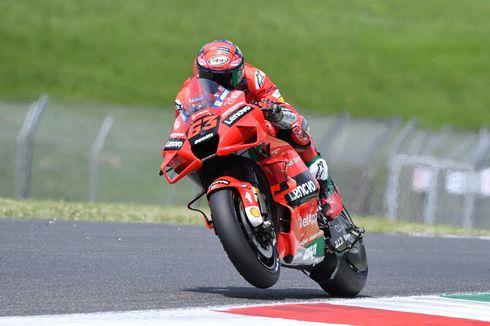 Starting Grid MotoGP Aragon: Baganaia Pole, Rossi Nyaris Paling Buncit