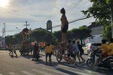 Viral Foto Ogoh-ogoh Diarak di Bali, Satpot PP Sebut Hanya Dipindahkan ke Gang