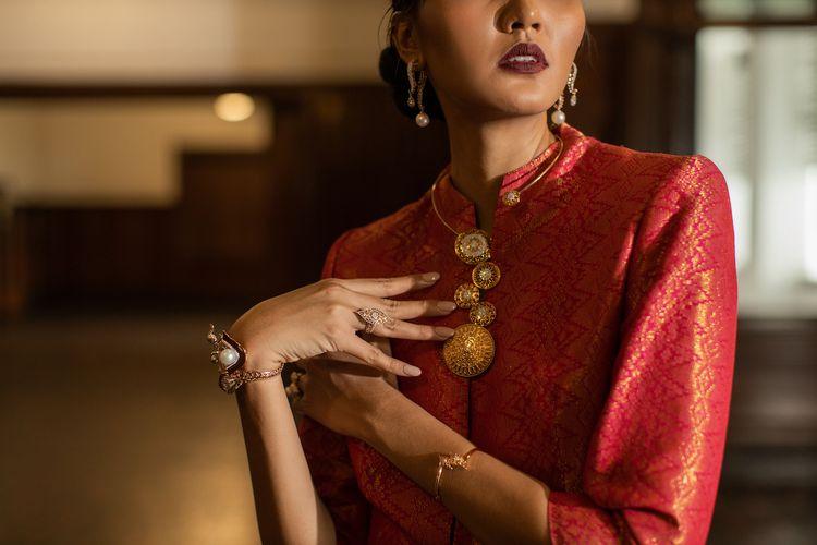 Koleksi perhiasan Nusantara, kolaborasi The Palace dan Samuel Wattimena.