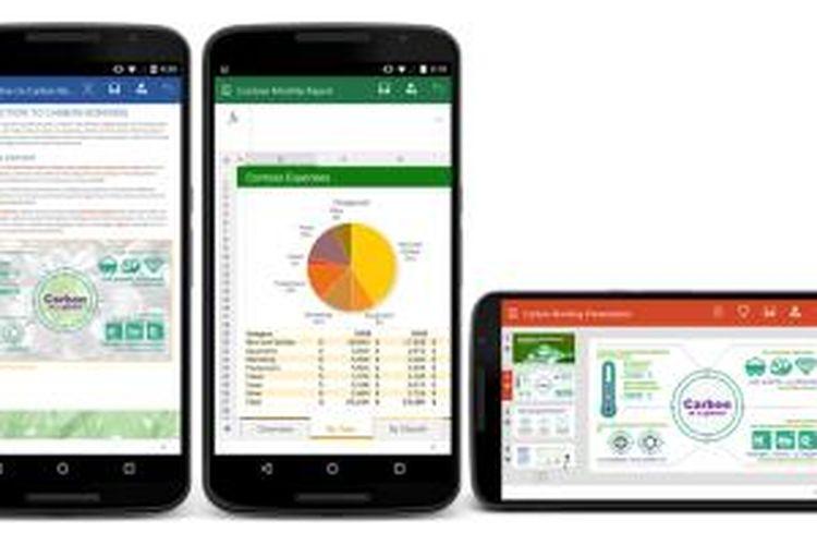 Office Preview untuk perangkat smartphone Android