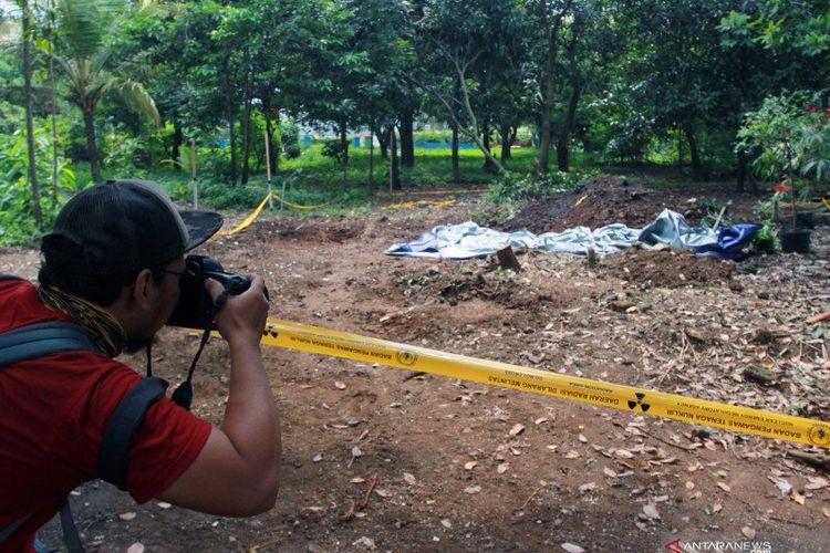 Temuan paparan radiasi nuklir di Perumahan Batan Indah, Serpong, Tangerang Selatan.