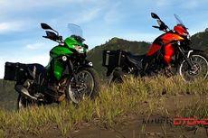 Komparasi Kawasaki Versys-X 250 Vs Honda CRF250 Rally
