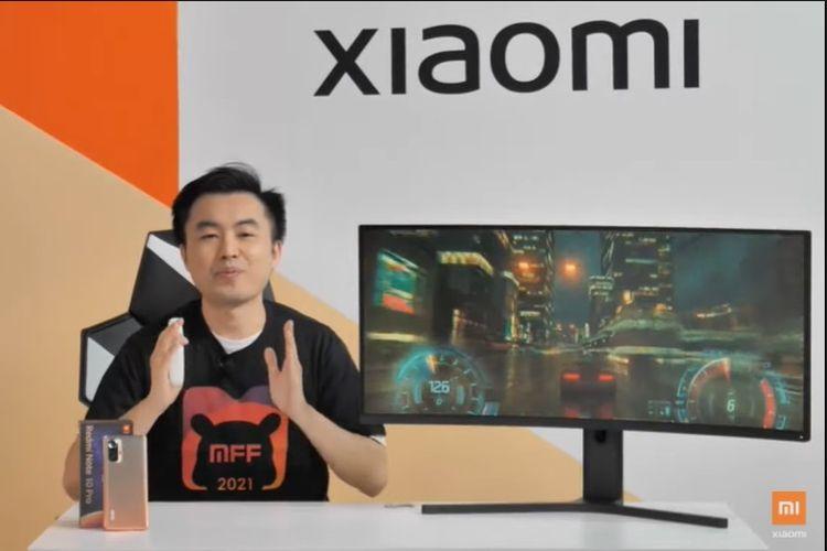 Xiaomi meluncurkan monitor gaming pertamanya di Indonesia