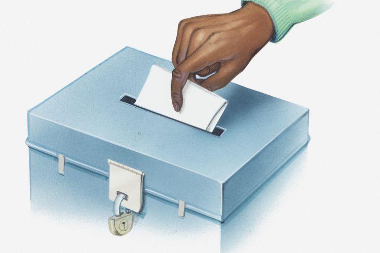 Ilustrasi pemungutan suara