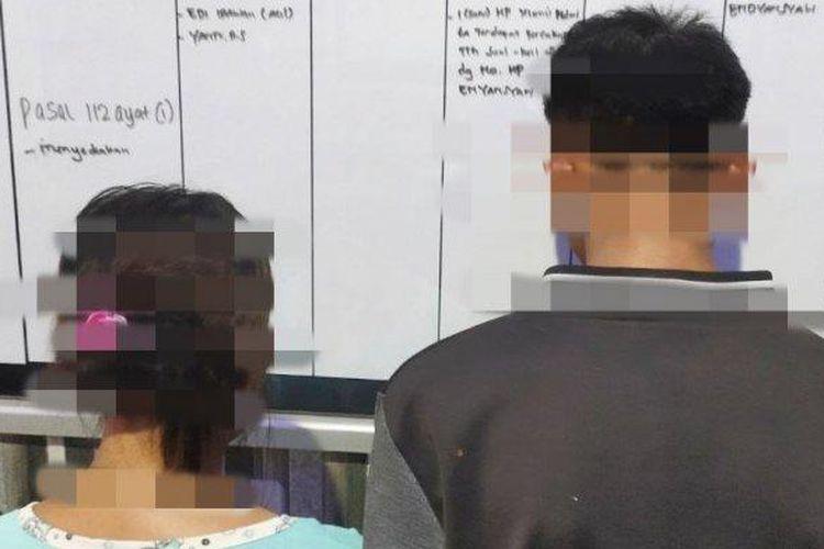 Ibu dan anak yang melakukan hubungan terlarang diamankan polisi