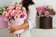 Permintaan Buket Bunga Meningkat Jelang Natal dan Hari Ibu