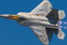Jet Tempur AS F-22 Raptor Tempel Pesawat Pembom Rusia di Arktik