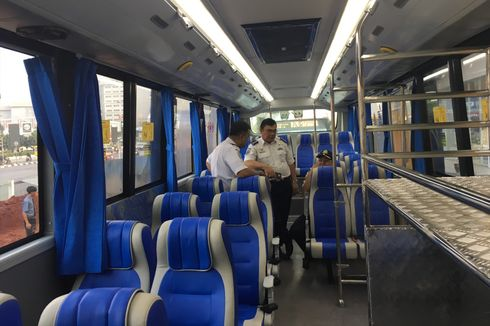 Ini Fasilitas Bus Transjabodetabek Premium Rute Bekasi-Plaza Senayan