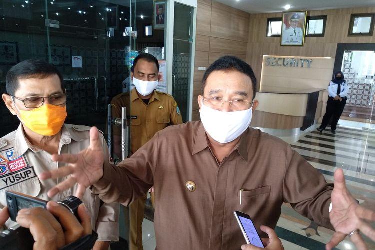 Wali Kota Budi Budiman didampingi Wakil Wali Kota Tasikmalaya Muhammad Yusuf.