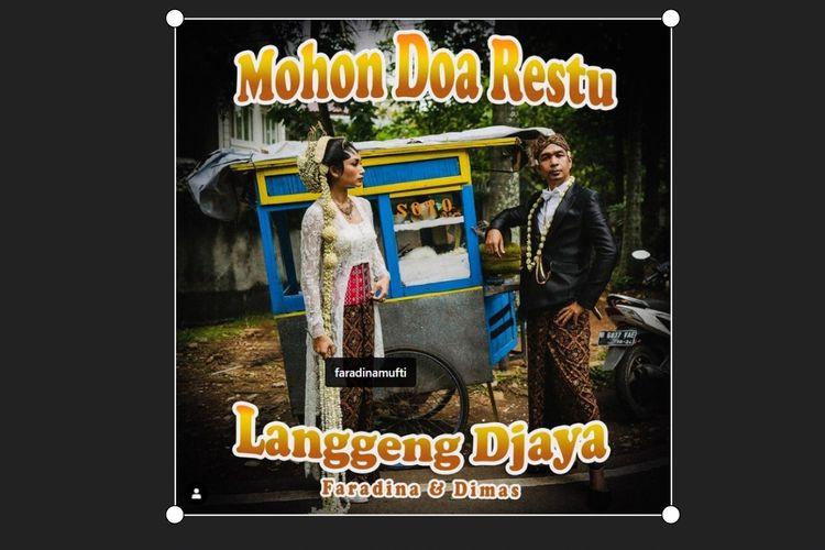 Sutradara Dimas Djayadiningrat (Dimas Djay) dan Faradina Muti