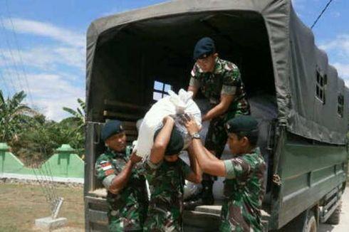 TNI Gagalkan Penyelundupan Miras dan Gula dari Malaysia