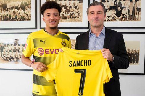 Syarat Manchester United Rekrut Sancho