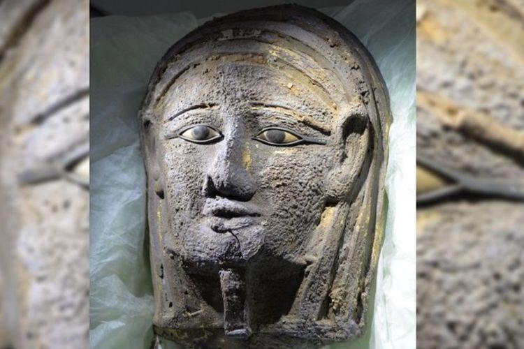 Arkeolog Jerman dan Mesir belum lama ini menemukan mumi bertopeng perak yang dilapisi emas. Temuan mumi dengan topeng logam adalah sesuatu yang langka.