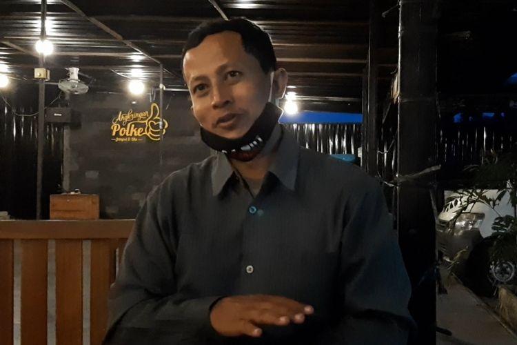 Mahmudi Hariono yang karib disapa Yusuf saat ditemui Kompas.com.