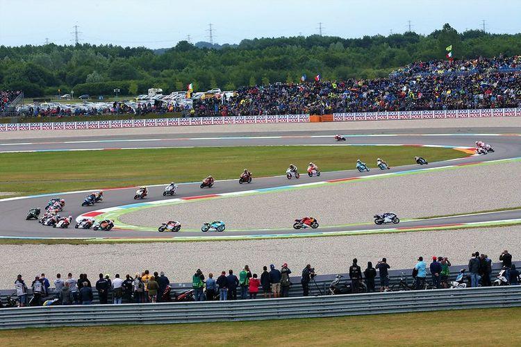 Sirkuit Assen yang selalu digunakan untuk menggelar MotoGP Belanda