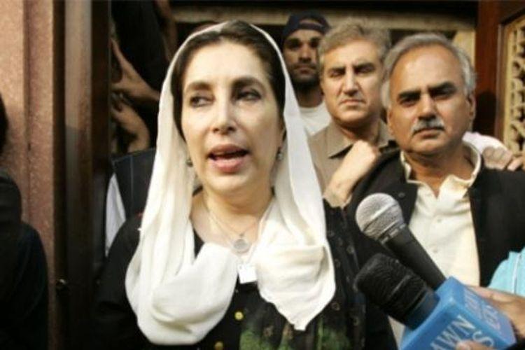 Mendiang PM Pakistan, Benazir Bhutto.