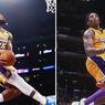 Kata LeBron James soal Kemiripan Aksi Slam Dunk-nya dengan Kobe Bryant