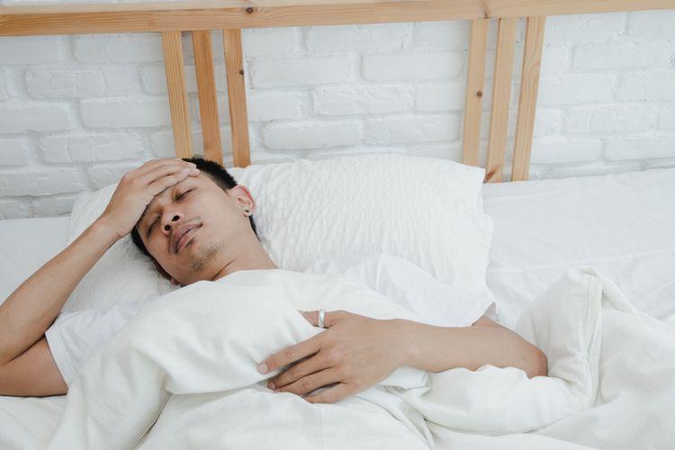 Ilustrasi demam tifoid atau penyakit tipes