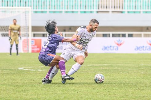 Hasil dan Klasemen Liga 1: Bali United ke Puncak, Persipura-Persija Tuntaskan Misi