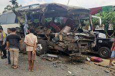 Kronologi Bus dan Truk Tabrakan yang Mengakibatkan 2 Orang Tewas, 4 Luka Ringan