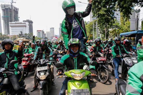 Ikut Aturan Pemprov DKI, Polisi Larang Ojol Bawa Penumpang