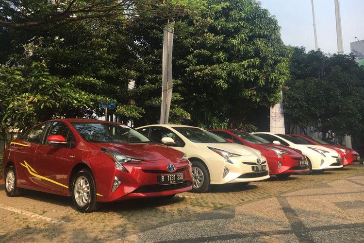 Toyota Prius Hybrid yang diserahkan kepada Perguruan Tinggi Negeri (PTN) untuk riset.