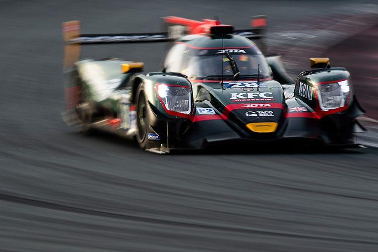 Sean Gelael saat sesi latihan untuk Asian Le Mans Series (ALMS) 2021