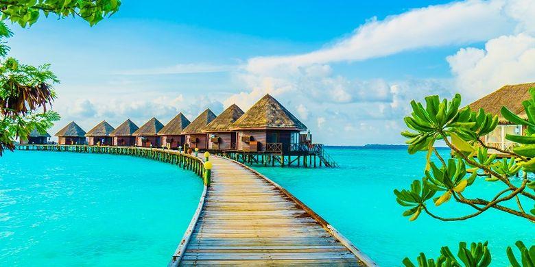 Ternyata 5 Vila Terapung di Indonesia, Serasa di Maladewa