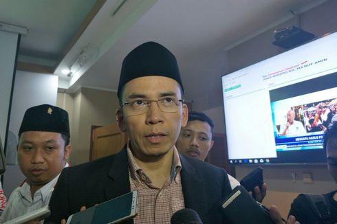 TGB Sebut Jokowi Layak Dipilih karena Dikelilingi Orang Baik