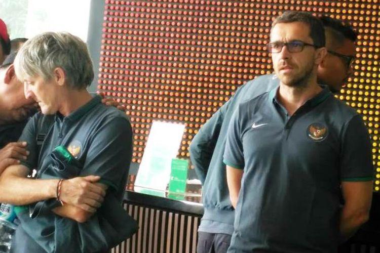 Florent Motta bertugas untuk menangani cedera yang dialami pemain.