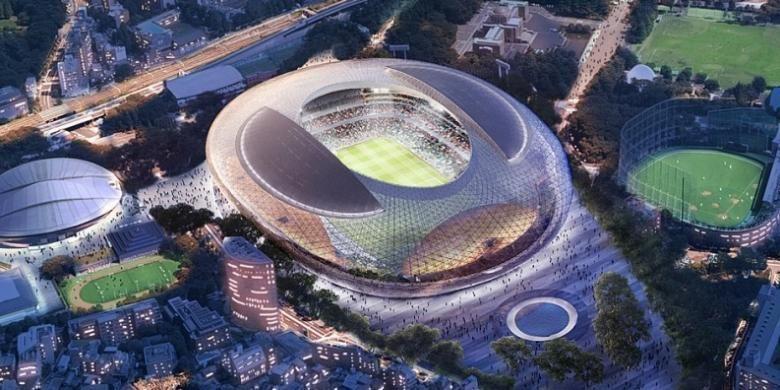 Rancangan Stadion Olimpiade Tokyo 2020