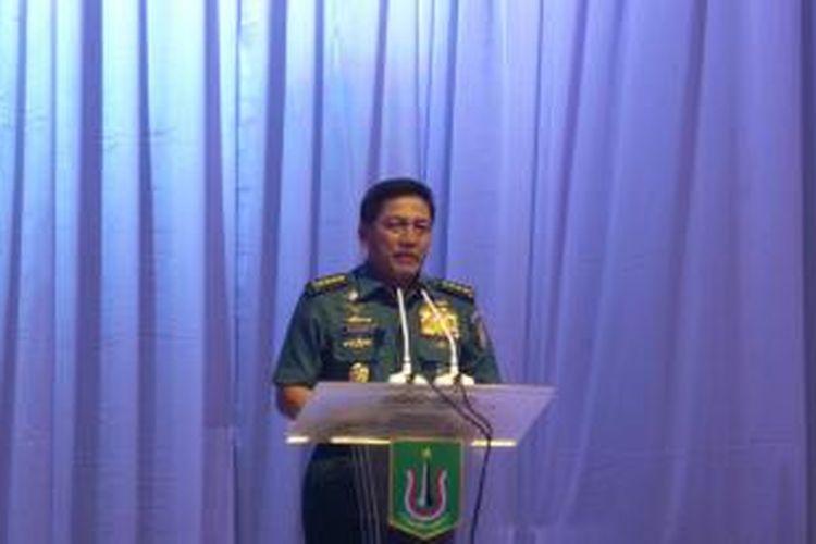 Kepala Staf TNI AL Laksamana TNI Marsetio