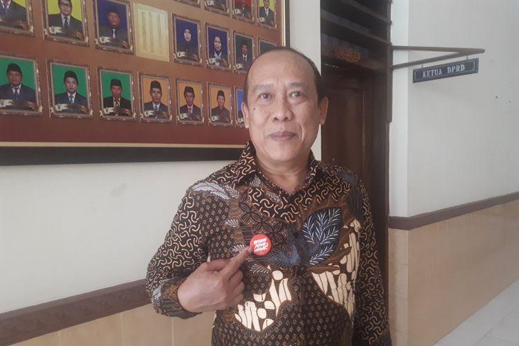Ketua DPRD Rudi Ghaffur menyambut baik roadshow KPK di Kota Probolinggo, Selasa (16/7/2019).