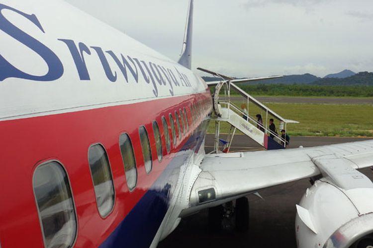 Maskapai Sriwijaya Air bantah pesawat rute Manokwari tak laik terbang