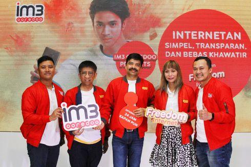 Indosat Rilis Paket Freedom Internet Tanpa Batasan Jam