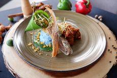 Nasi Telang Rendang Kambing Hadir di Semarang