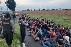 Ngabuburit dengan Balap Liar, Puluhan Pemuda Kabur ke Kebun Jagung Saat Dirazia