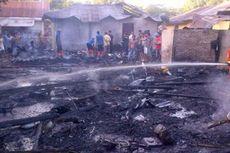 Rumah Tukang Mebel Habis Terbakar