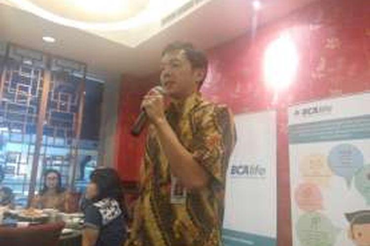 Wakil Presiden Direktur BCA Armand W Hartono di Jakarta, Rabu (7/9/2016)