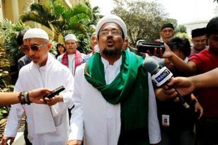 Ketua Umum DPP Front Pembela Islam  Rizieq Syihab.
