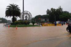 Hujan Deras, Jalan Medan Merdeka Barat Tergenang