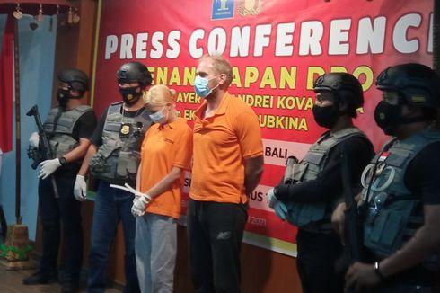 13 Hari Kabur Bersama Kekasih, Andrew Ayer, Buronan Interpol Ditangkap di Vila Seminyak, Bali