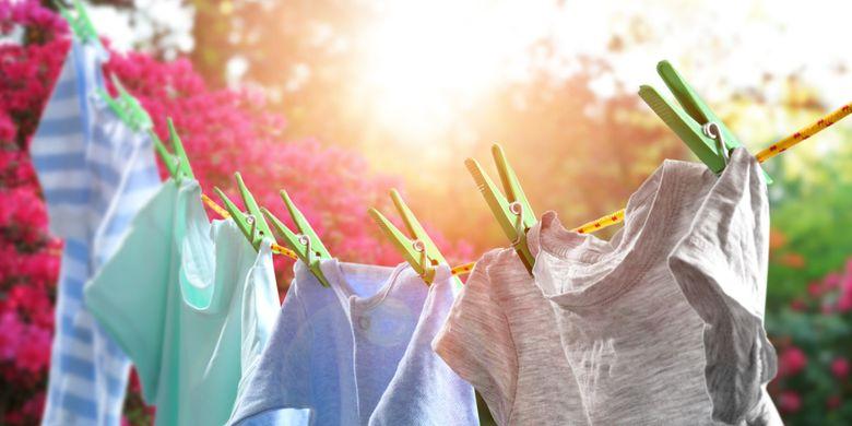 4 Penyebab Pakaian Berbau Saat Dijemur