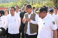 Terobos Barikade Paspampres, Pengungsi Gempa Maluku Berebut Swafoto dengan Jokowi