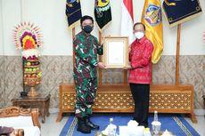 Panglima TNI Beri Penghargaan ke Gubernur Bali Terkait Penerapan PPKM