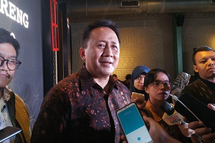 Mantan Kepala Badan Ekonomi Kreatif (Bekraf) Triawan Munaf di Jakarta