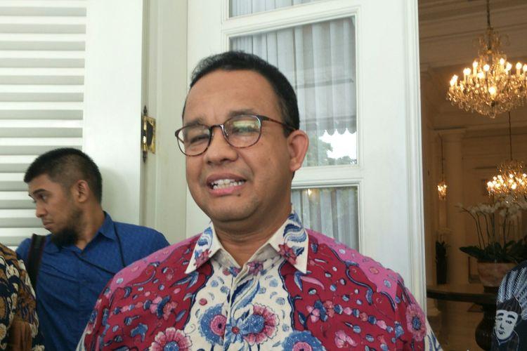 Gubernur DKI Jakarta Anies Baswedan di Balai Kota DKI Jakarta, Kamis (9/1/2020).