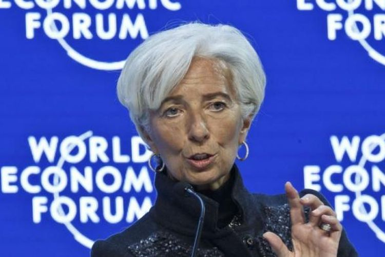 Direktur IMF Christine Lagarde.