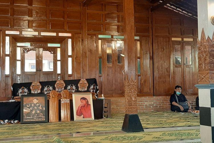 Rumah Duka Dalang Ki Seno Nugroho di Sedayu Bantul Rabu (4/11/2020)