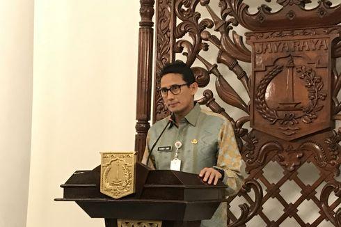 Kata Sandiaga, PSO untuk Dharma Jaya Tak Kunjung Cair karena Hal Ini